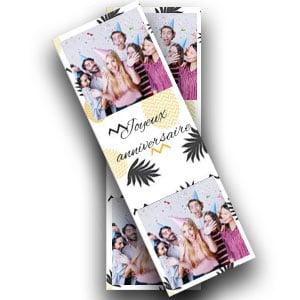 Photobooth frames in stripvorm
