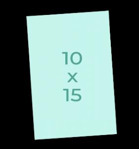 Klassiek portretfotoformaat 10x15