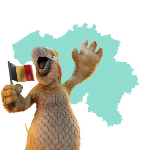Pablo toont je de leverzone in België