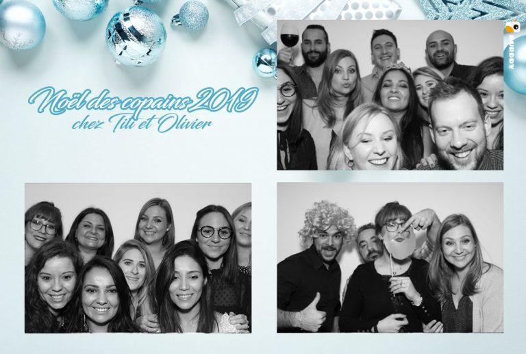 Mika et ses amis ont passé une soirée de folie avec la borne photo