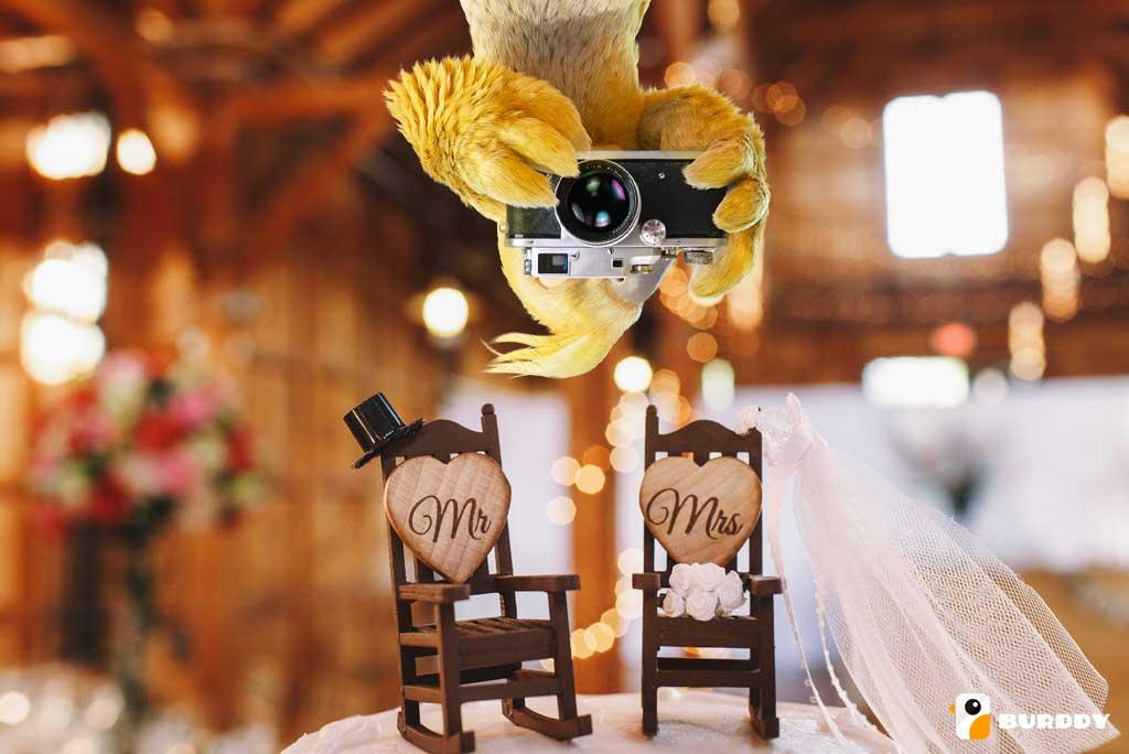 Des photos de mariage originales avec BURDDY